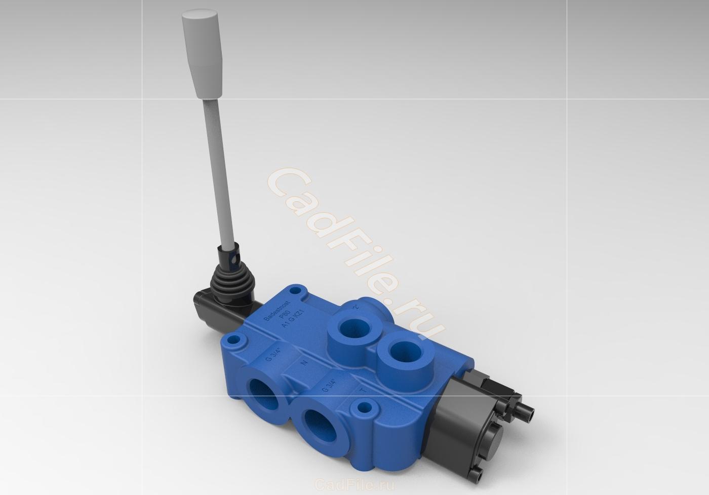 гидрораспределитель 3D-модель
