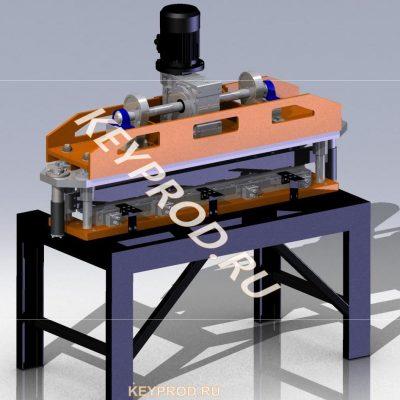 Гильотина 3D-модель