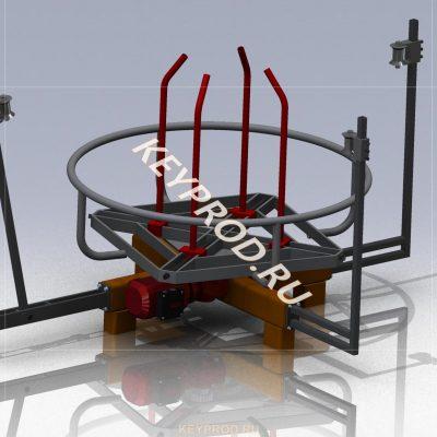 Размотка проволоки (до 500 кг)